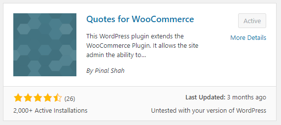 Quotes for WooCommerce