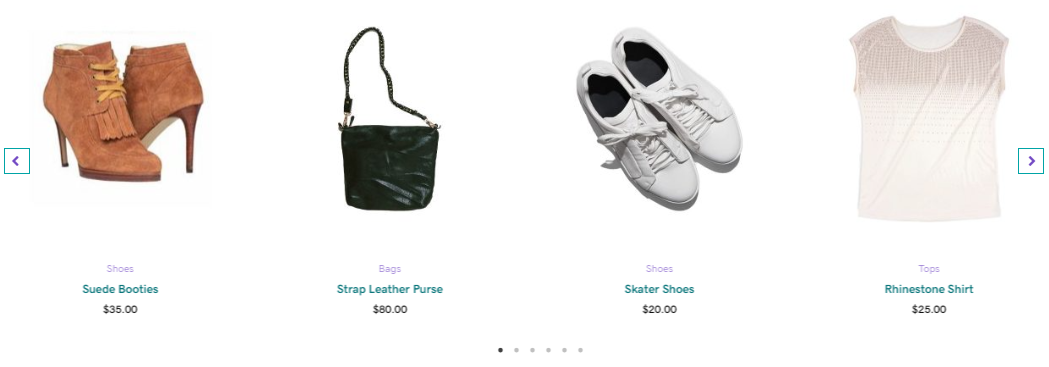 product featured slider